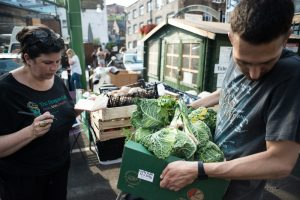 Plan Zheroes - rescuing and redistributing food that might otherwise go to waste from Borough Market and other London Markets