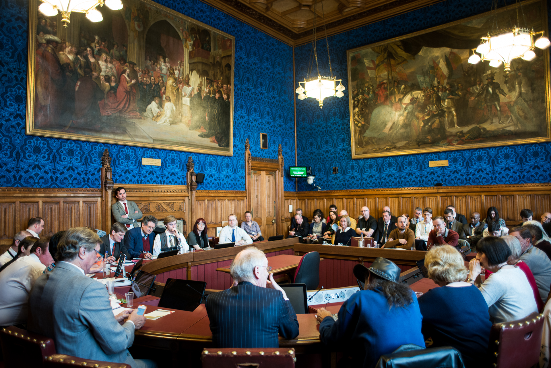 Democracy Matters - Electoral Reform Society event at the Houses of Parliament
