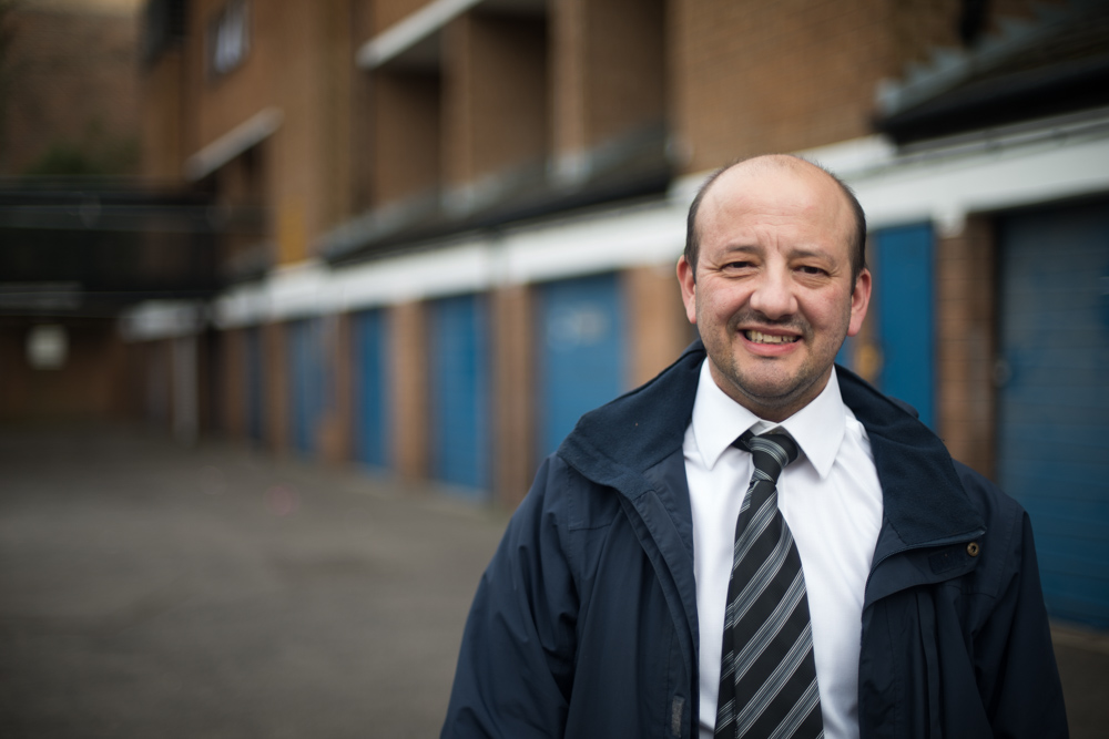 Charlie Kiss - Green Party Parliamentary Candidate for Islington South & Finsbury in 2015 - Portrait by Chris King