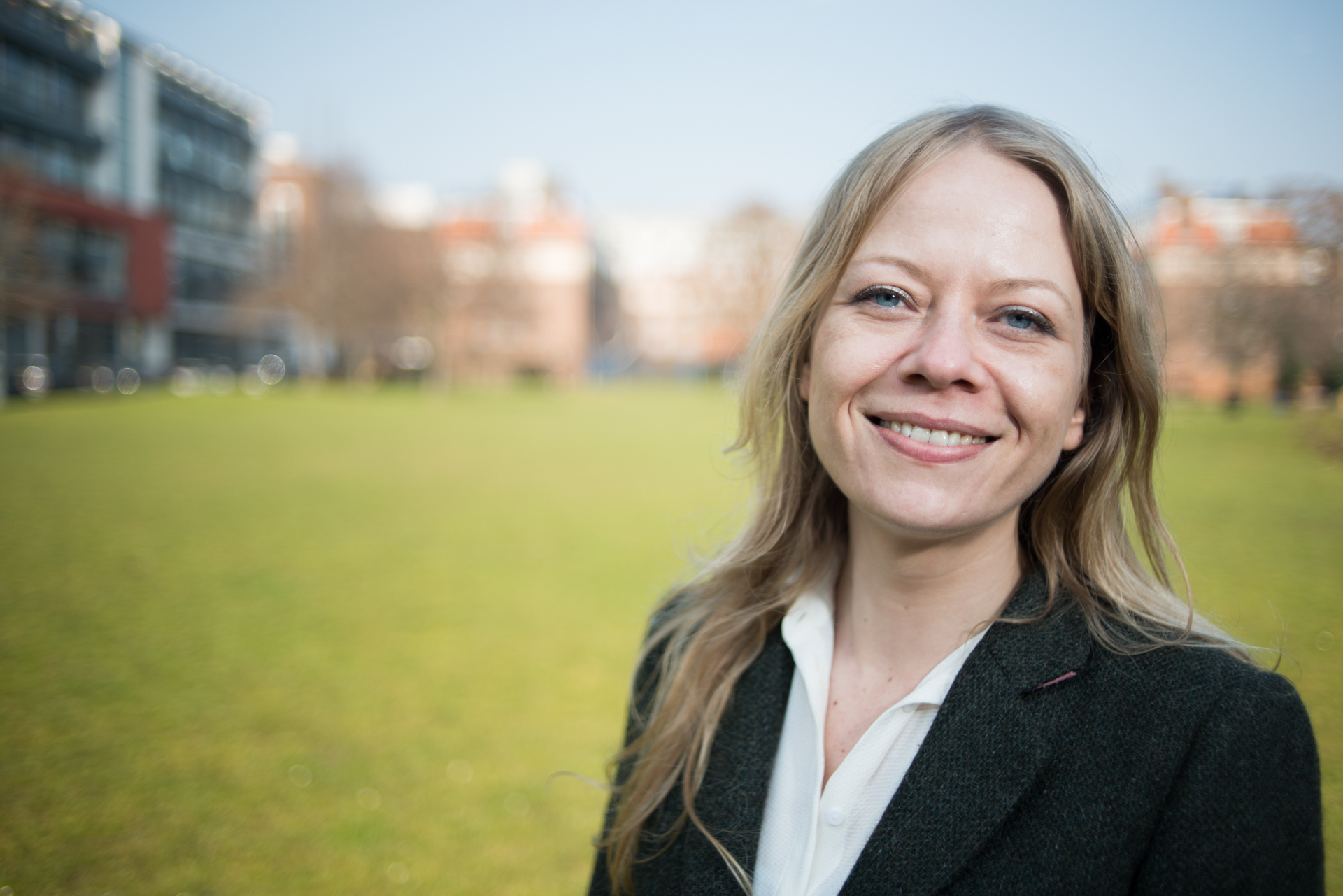 Portrait of Sian Berry - Green Party London Mayoral Candidate and London Assembly member