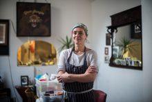 Dinner Exchange East Volunteer - Portrait of Food Waste Warrior as part of my documentary photography project on food waste - Documentary Photographer Chris King