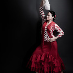 Flamenco Dancer in London - Studio Portrait Photography by Chris King